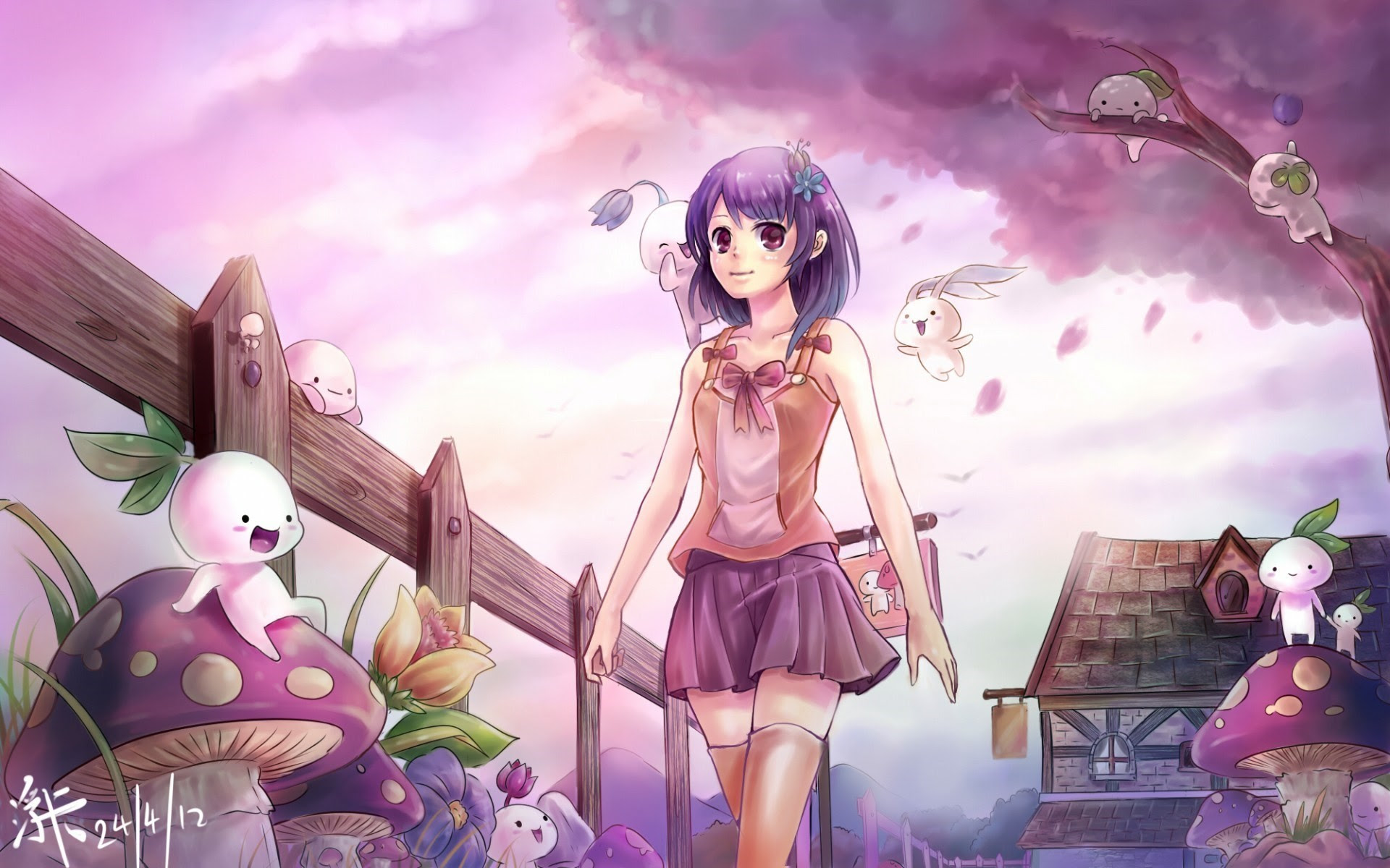 Cute Anime Wallpapers for Desktop (59+ images)