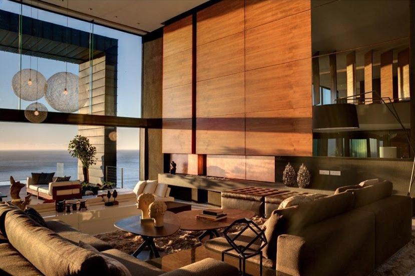16 Wooden Living Room Designs