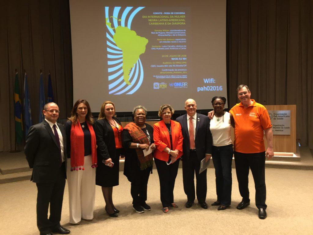Mensagem do Cordenador Residente da ONU no Brasil por ocasião do Dia Internacional da Mulher Negra Latino Americana, Caribenha e da Diáspora/onu mulheres ods noticias mulheres negras direitosdasmulheres decada afro