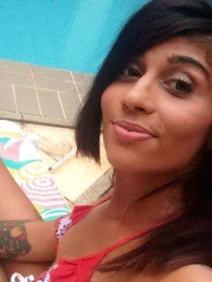 Atriz foi presa em São Vicente e encaminhada para Santos (Foto: Reprodução/Facebook)