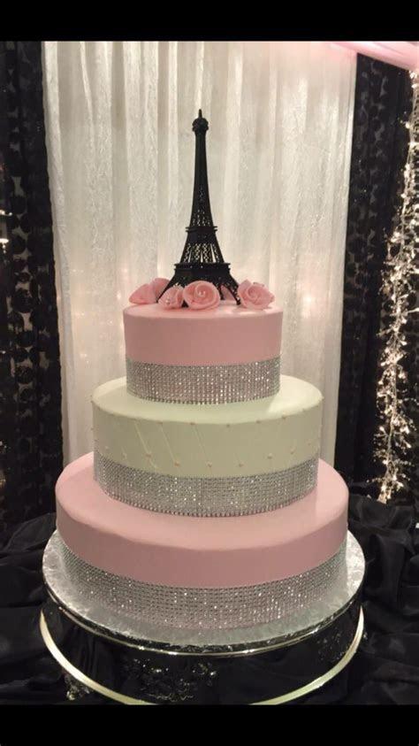 Best 25  Eiffel tower cake ideas on Pinterest   Paris