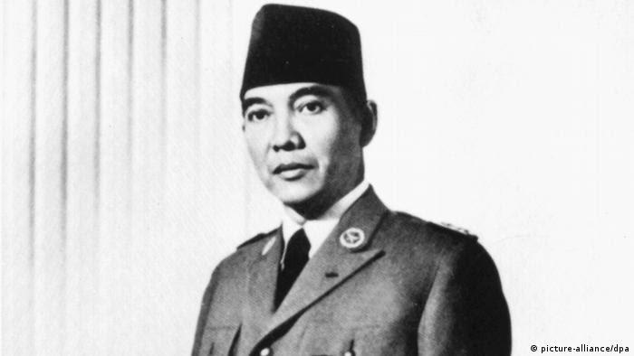 Der indonesische Staatspräsident Sukarno