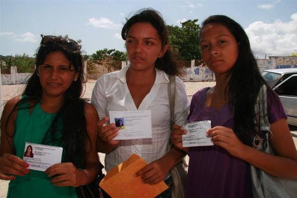 Maria das Graças, de João Câmara, Maria Cibele, de São Miguel do Gostoso, e Raquel Gomes, de Maxaranguape