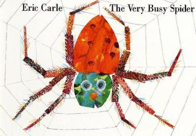 Cover image for The very busy spider