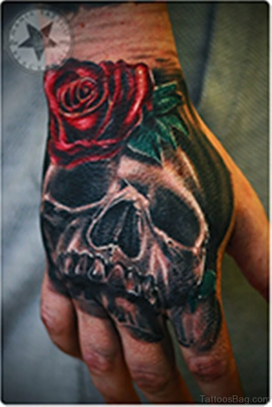 80 Best Skull Tattoos On Hand