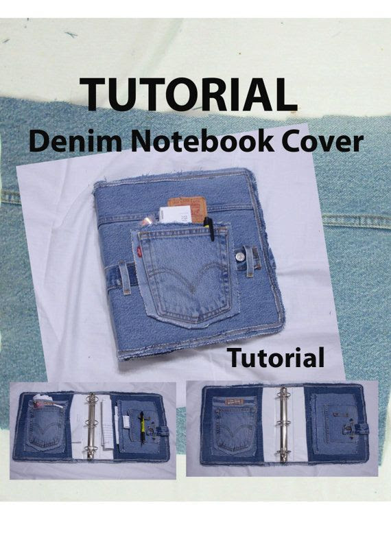Covered Denim Notebook