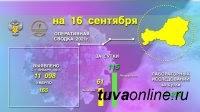 Эпидситуация по коронавирусу в Туве за 15 сентября - 61 новый случай