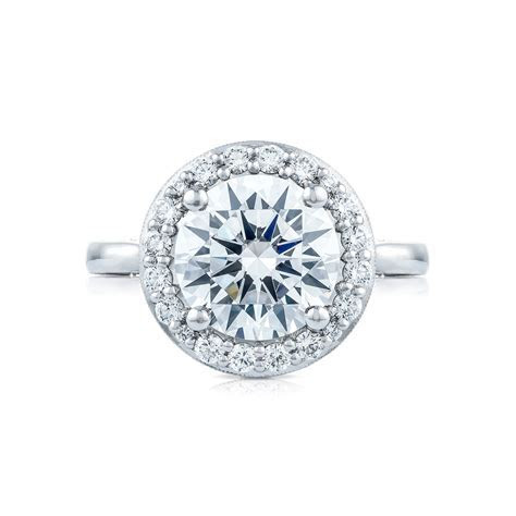 Tacori RoyalT Collection HT2651RD95 Bloom Diamond