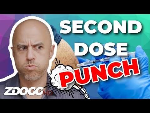 Dr. ZDoggMD expresses how I felt after my second dose