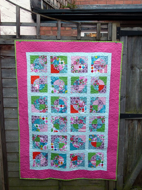 Moonshine - A finished Quilt