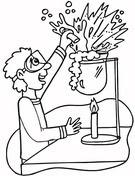Dibujo De Química Para Colorear Dibujos Para Colorear Imprimir Gratis