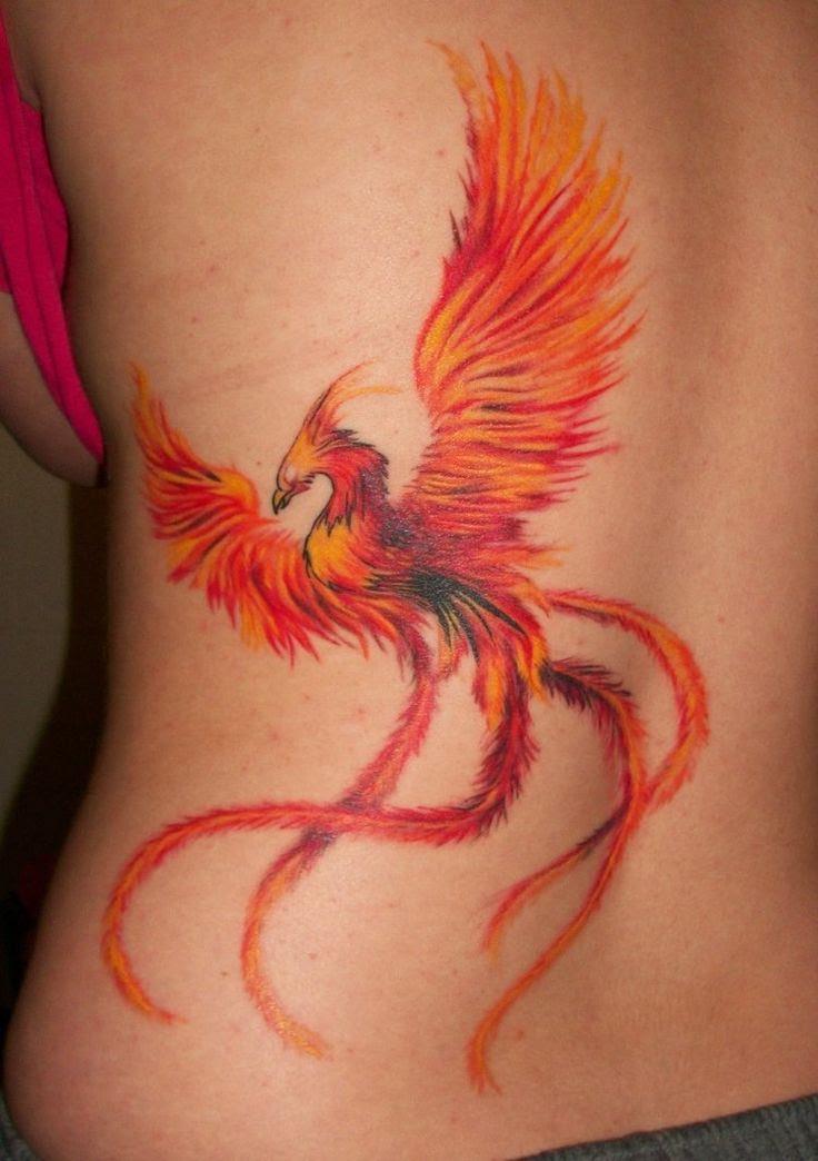 Tatuaje De Ave Fenix Tattoo Inked