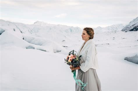 Winter Is Coming Ice Cave Wedding Ideas In Alaska