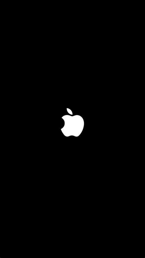 wallpaper black apple  iphone  iphonewallpapers
