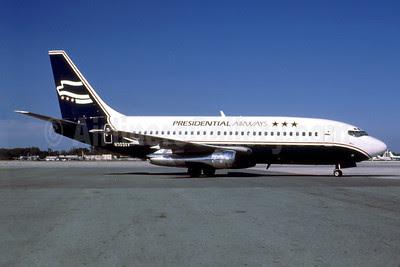Presidential Airways Boeing 737-230C N303XV (msn 20255) MIA (Bruce Drum). Image: 103067.
