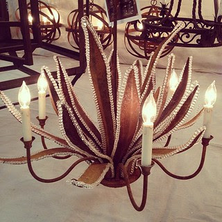 Gorgeous light fixture for Isabella