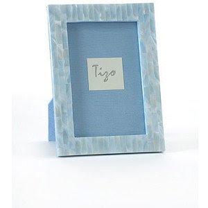 Tizo Blue Mother Of Pearl Frame 4x6 Feliz Interiors Houston