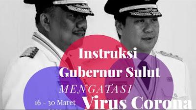 Instruksi Gubernur Olly Untuk Dunia Pendidikan Dalam Upaya Mencegah Virus Corona