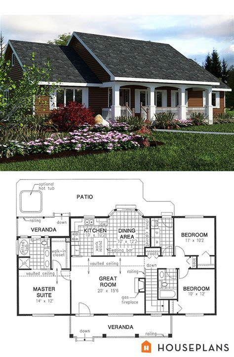 elevation  plan  simple sft country house