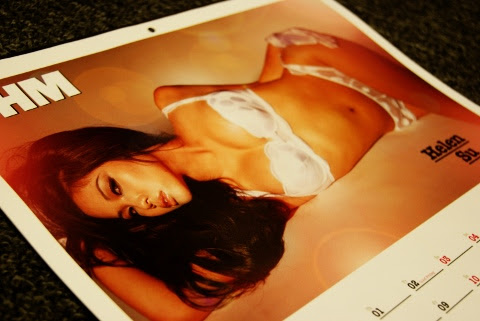 FHM Singapore 2010 Calendar Girls