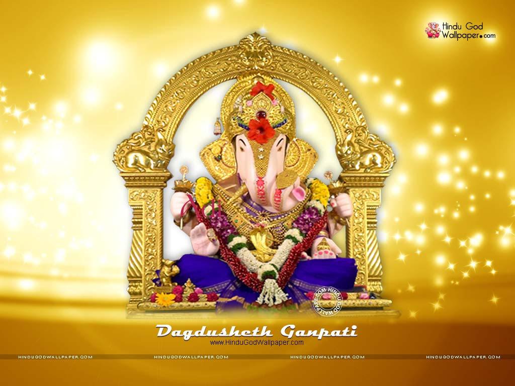 Lord Ganesha Hd Wallpapers For Laptop Dagdusheth Ganpati ...