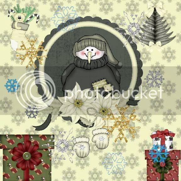 Winter,Christmas,Clip Art Creations,Snowmen