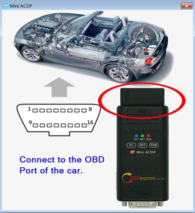 BMW Cas4 körsträcka Reset Med Yanhua ACDP 01