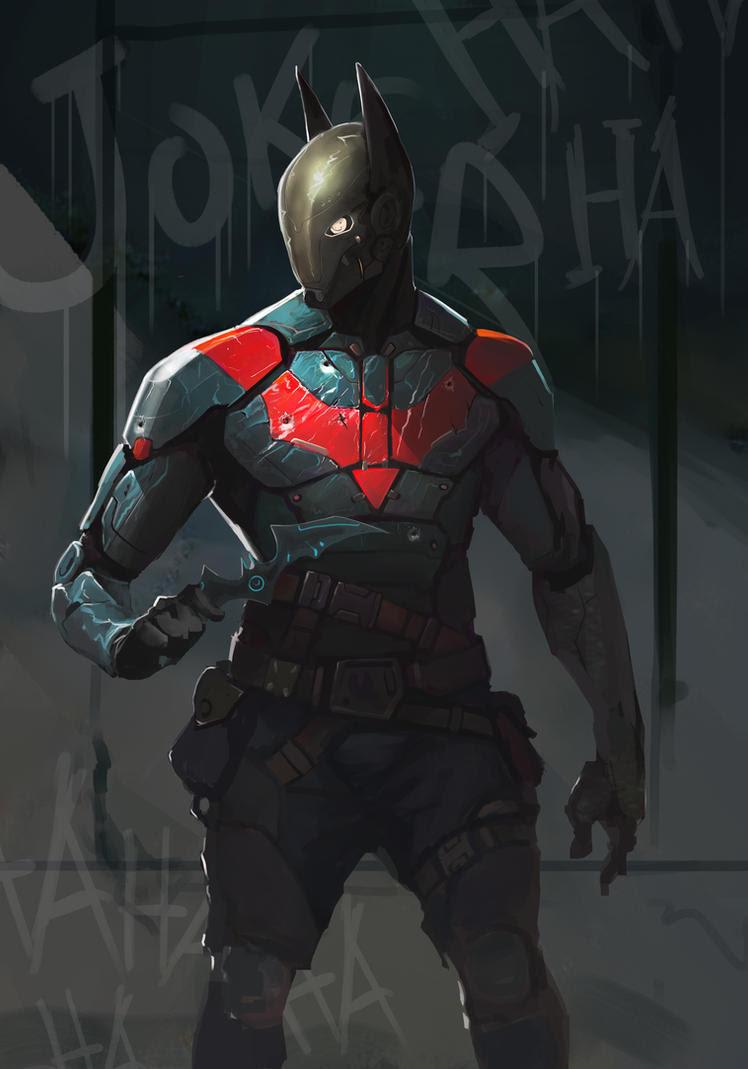 Batman Redesign by AlexTzutzy