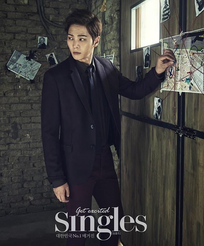 Joo Won for Singles Korea November 2015.
