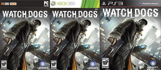 Watch Dogs box art has its hands full