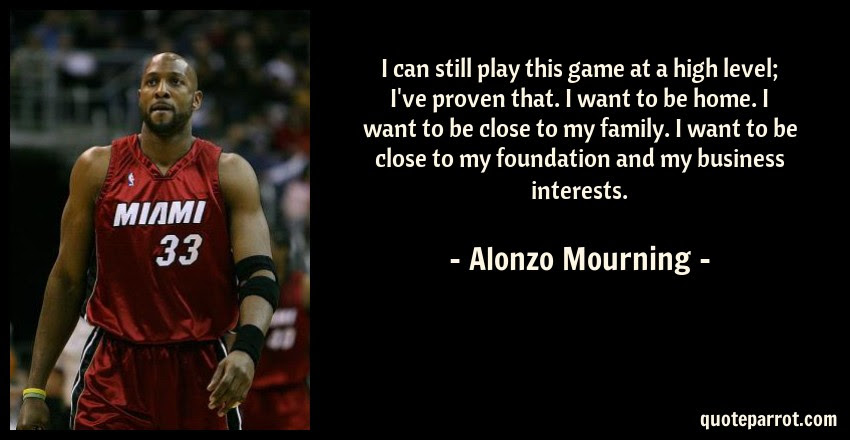 I Can Still Play This Game At A High Level Ive Proven By Alonzo