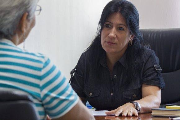 Niurys Castañeda Portal, vicepresidente de Desarrollo en Copextel. Foto: L. Eduardo Domínguez/ Cubadebate.