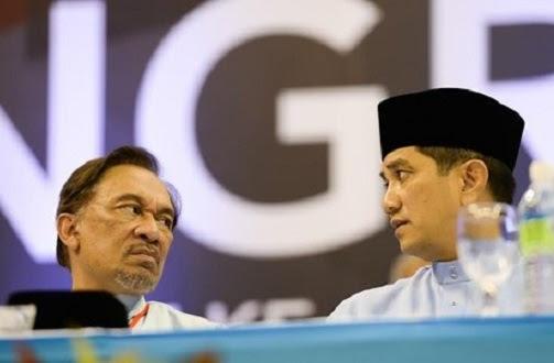 Pertelagahan Anwar - Azmin perkara biasa - Pemimpin PKR