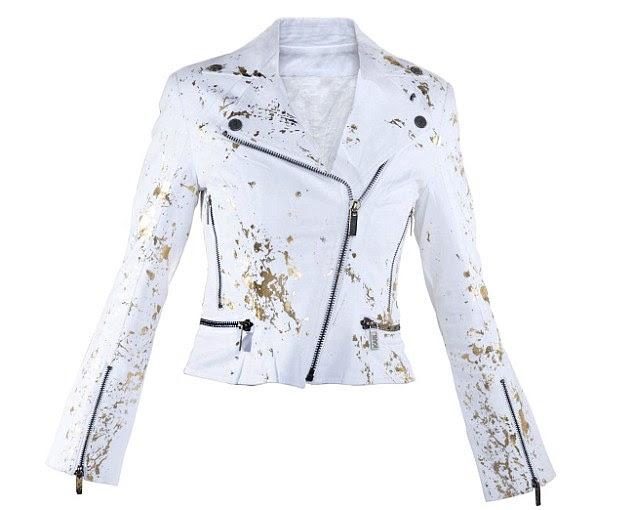 Splash of gold: A Team Karl jacket