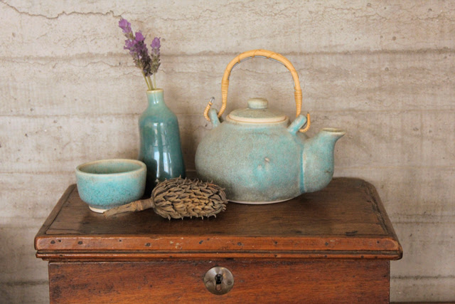 Turquoise and Lavender
