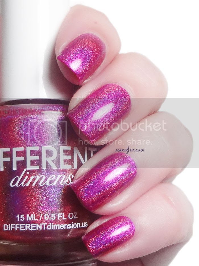 xoxoJen's swatch of Different Dimension Saphir Rose