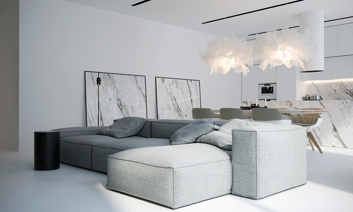 White Minimalist Spaces That Will Make You Forget All ...