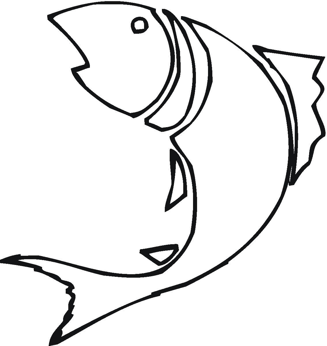 Free Fish Line Drawings Download Free Clip Art Free Clip Art On