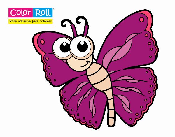 Dibujos Mariposas De Colores Great Dibujando Y Pintando Mariposa