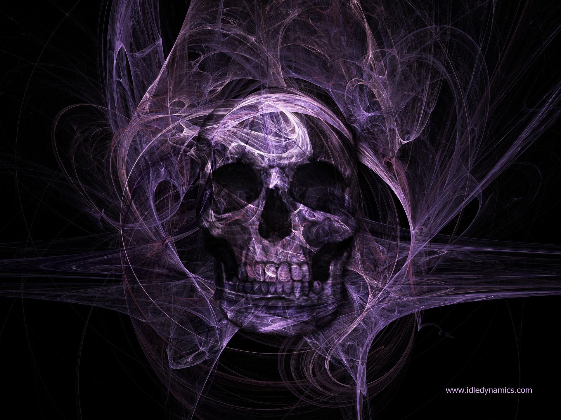 Purple Skull Wallpaper 61 Images