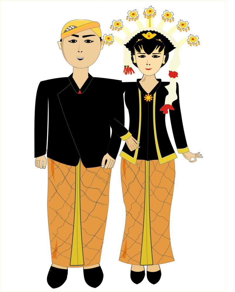Kumpulan Gambar Kartun Pakaian Adat Jawa Barat Galeri Kartun