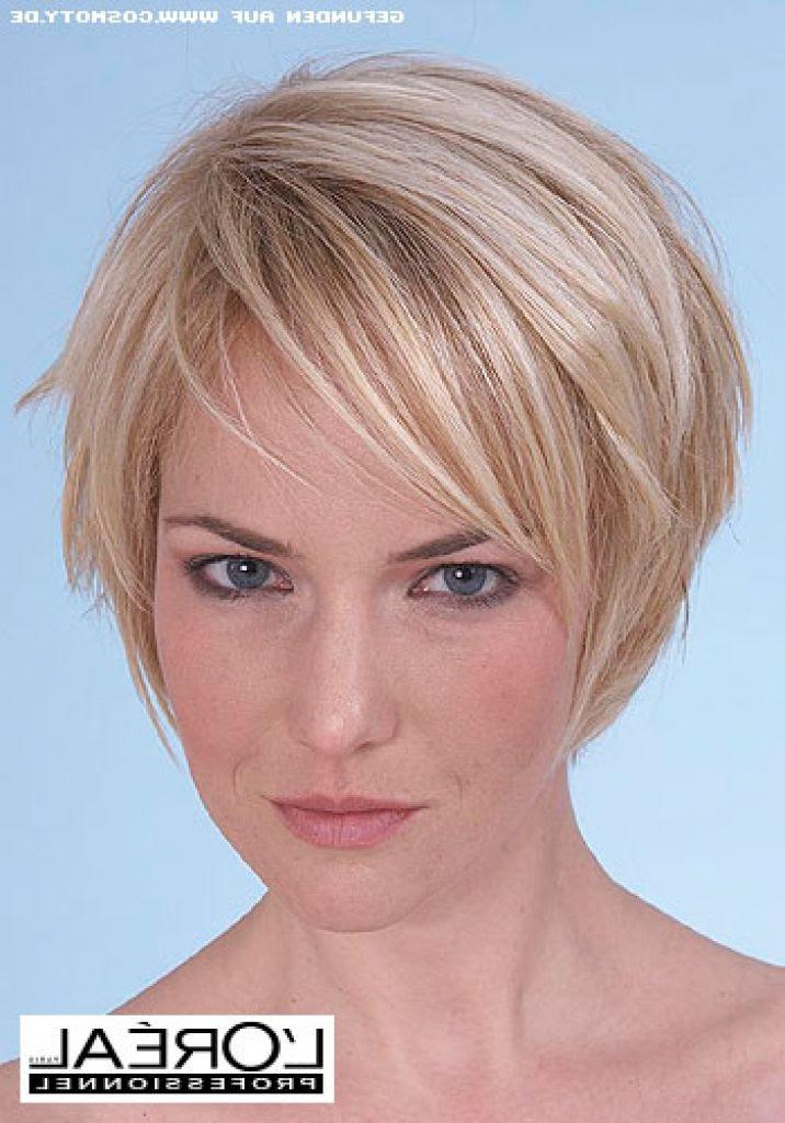 frisur kurze dünne haare