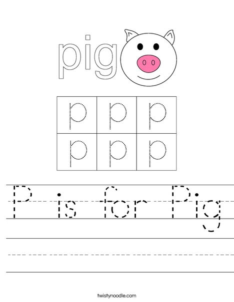 p is for pig 40_worksheet_png_468x609_q85