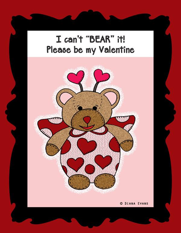 love bear - b - colour