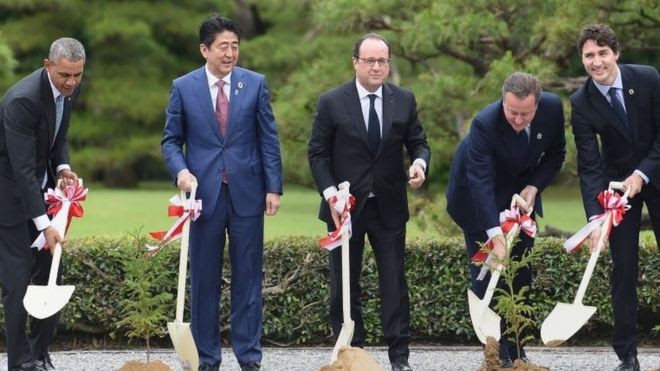 G7 Japan: World Leaders Visit Shinto Religion's Soliest Shrine
