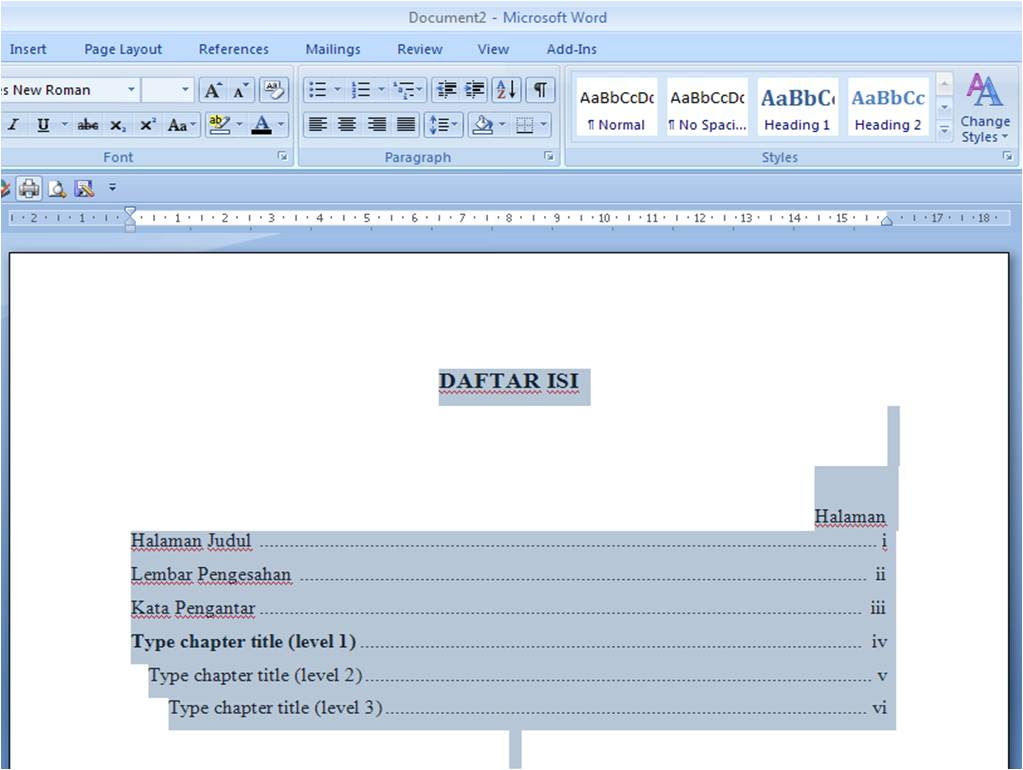 Contoh Daftar Pustaka Microsoft Word - Top 10 Work at Home ...