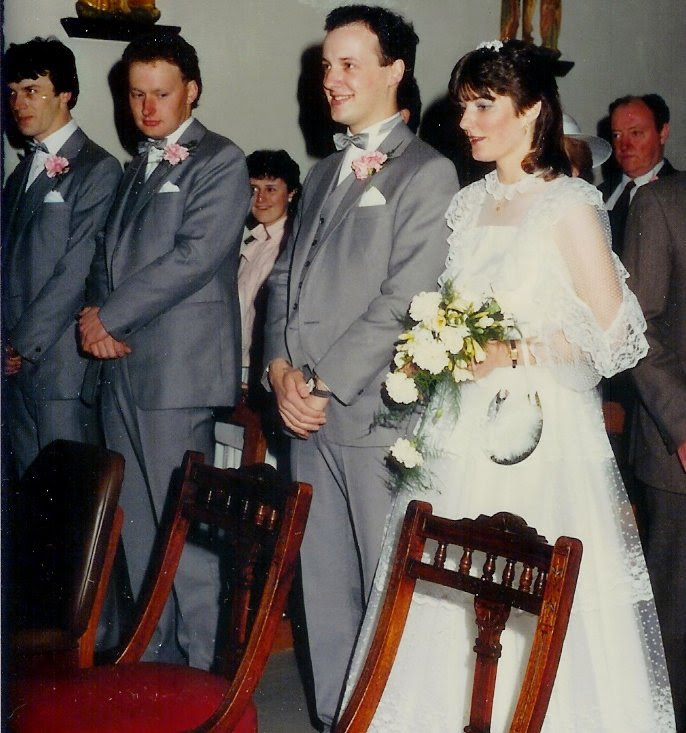 My Parents Wedding Day in 1985