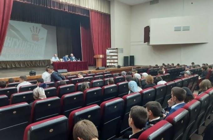 ВСунженском районе Ингушетии состоялось мероприятие, приуроченное коДню солидарности вборьбе стерроризмом