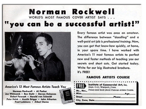 Norman Rockwell is totally F'N Metal!
