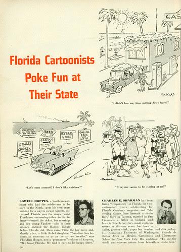 Florida cartoonists1 - Cosmo1957-04